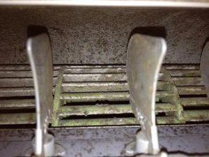 エアコンの汚れの確認