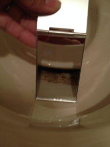 トイレの汚れ